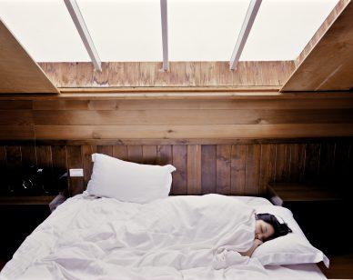 sleeping lupus woman